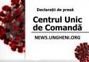 COVID-19 // Declarații după ședința Centrului Unic de Comandă din 4 aprilie 2020