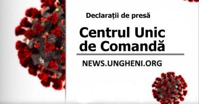 COVID-19 // Declarații după ședința Centrului Unic de Comandă din 1 aprilie 2020