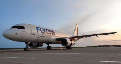 Orarul curselor charter operate de Fly One pentru 15 – 28 iunie 2020