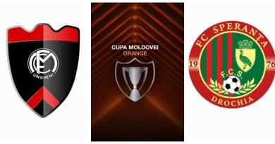 Cupa Moldovei Orange: FCM Ungheni vs FC Speranța Drochia