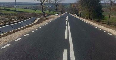 A fost finalizată reabilitarea traseului R16 Bălți – Fălești – Sculeni, segmentul dintre Bălți și Fălești
