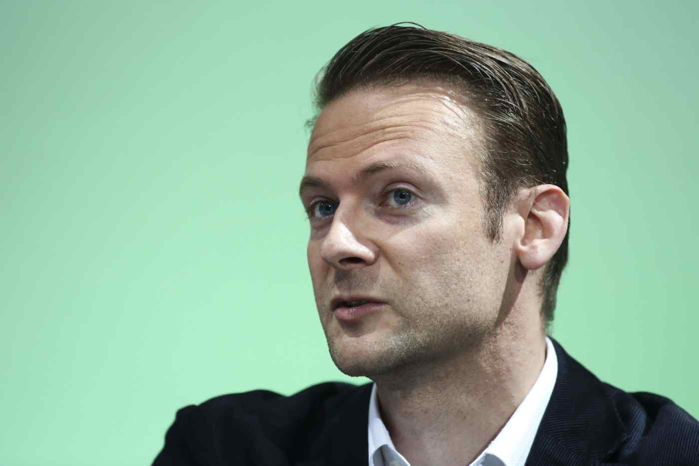 Jan Hammer, partner at Index Ventures, speaks during a panel session in London, U.K., on Thursday, July 10, 2014.