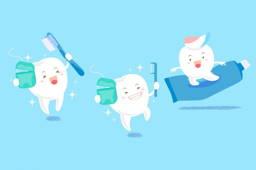 proses pemasangan behel gigi