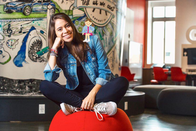 Portrait: Macki Alvarez-Mena, soon to be an Iovine and Young Academy graduate