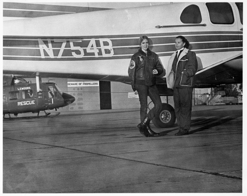 Angela Masson first female pilot 747