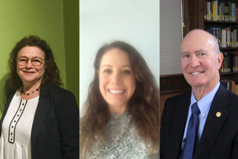 Karen Koblitz, Gigi Miller and Jerry Walker, from left, are participating in Trojan Connections. (Photos/Courtesy of Koblitz, Miller and Walker)