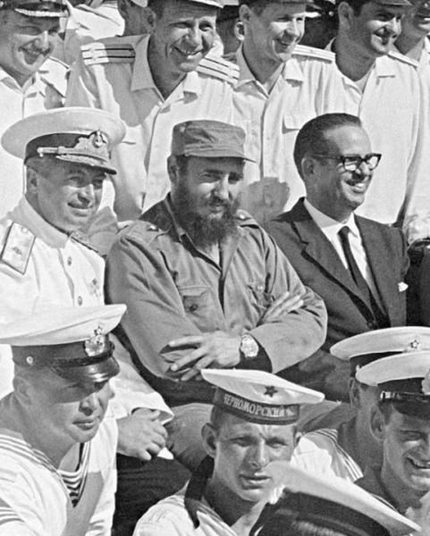 The Soviet Navy's Caribbean Outpost