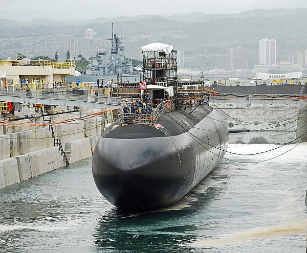USS City of Corpus Christi (SSN-705) in 2010. US Navy Photo