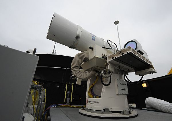 Report: Lasers on U.S. Navy Ships