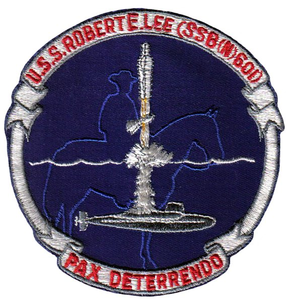 USS Robert E. Lee (SSBN-601) ship patch.