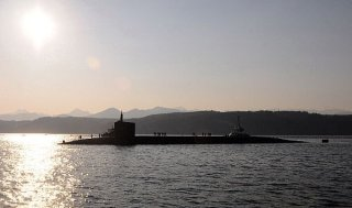 Ohio-class ballistic-missile submarine USS Pennsylvania (SSBN 735) returns to its homeport of Naval Base Kitsap-Bangor, Maine in 2012. US Navy Photo