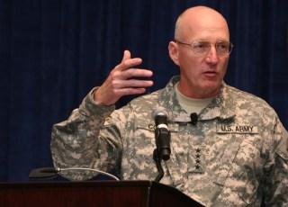 Gen. Robert Cone, TRADOC commander in 2011. US Army Photo