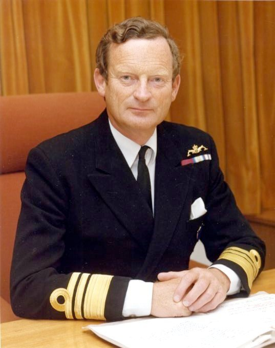 Adm. John Woodward during in the early 1980s. Royal Navy Photo