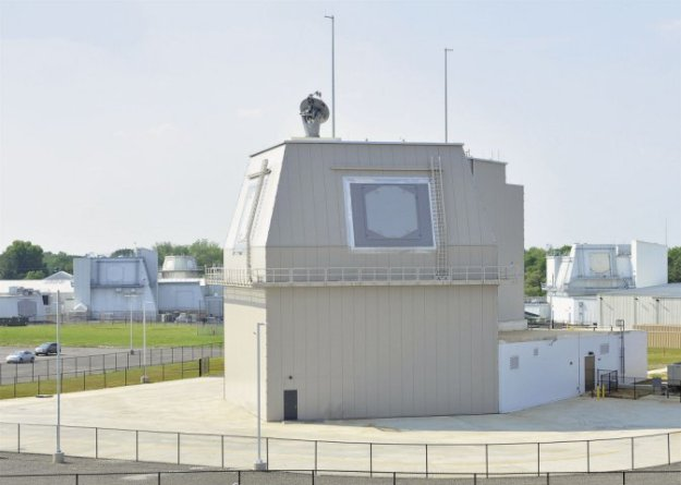 The deckhouse for the Aegis Ashore system bound for Romania at the Lockheed Martin Aegis facility. Missile Defense Agency Photo
