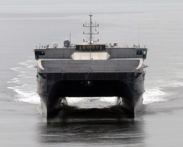 Navy's First Joint High Speed Vessel Completes Testing