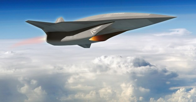 Artist's conception of the SR-72 so-called Son of Blackbird concept from Lockheed Martin Skunk Works. Lockheed Martin Photo