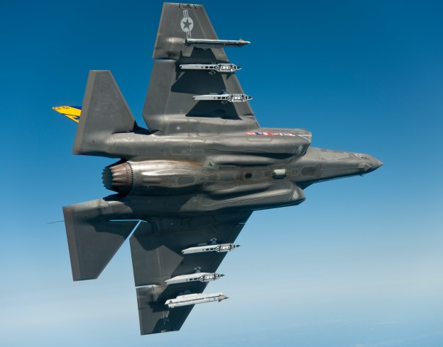 A F-35C on June 27, 2012. US Navy Photo