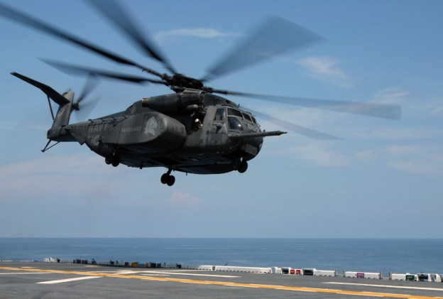 MH-53E Seadragon Assigned to HM-14 Vanguard in 2009. US Navy Photo