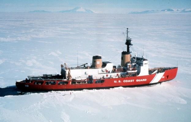 US Coast Guard Ice Breaker Polar Star (WAGB-10). US Coast Guard Photo