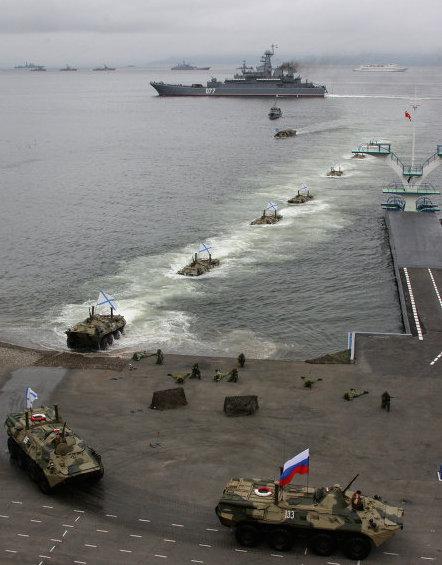 Russian Amphibious Forces. RIA Novosti Photo