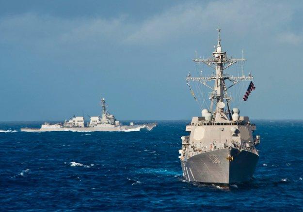 USS Kidd (DDG-100) in 2012. US Navy Photo