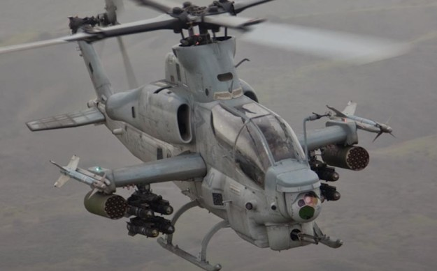 AH-1Z attack helicopter. Bell Photo