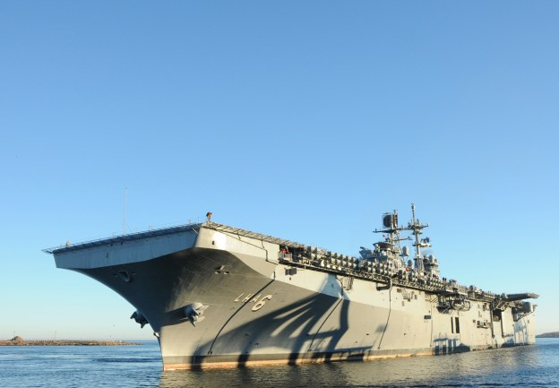 Amphibious Warship America to Leave for West Coast on Thursday