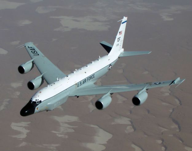 Boeing RC-135V/W Rivet Joint. US Air Force Photo