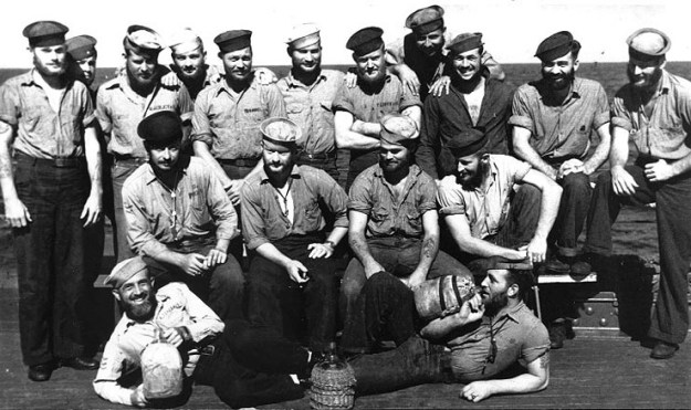 """The """"Converted Mountaineers"""" of USS West Virginia in 1944"""