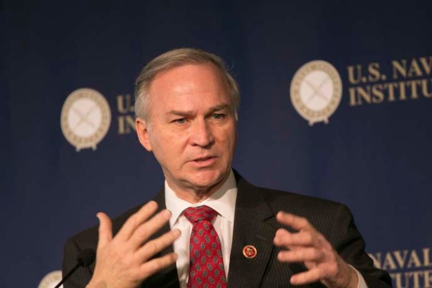Rep. Randy Forbes (R-Va.). Naval Institute Photo