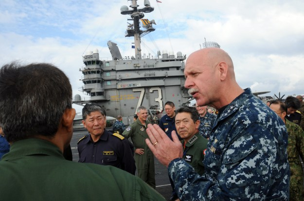 Pentagon Taps Director of Navy Staff for Pacific Fleet Command