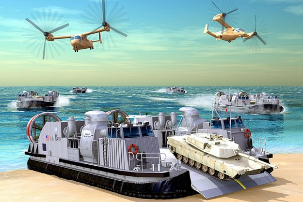 Textron Starts Work on New Navy Hovercraft