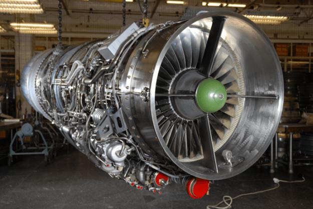 Klimov RD-93 engine. Photo via RT.