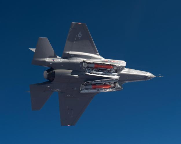 A U.S. F-35 Joint Strike Fighter. Lockheed Martin Photo