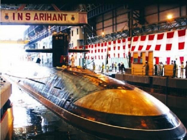 INS Arihant in 2009. Indian Navy Photo