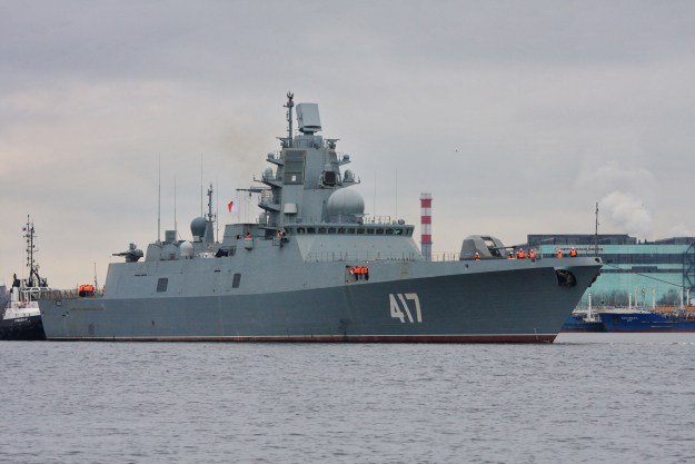 Ukraine Arms Embargo Could Delay Delivery of Russian Frigates