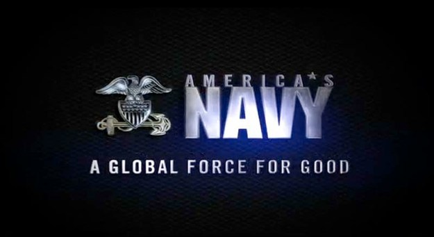 Screengrab from Navy's video for the
