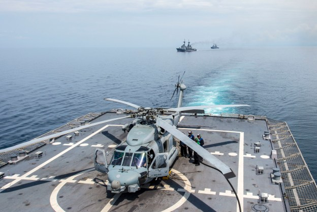 USS Fort Worth Completes Its First CARAT Exercise with Philippines