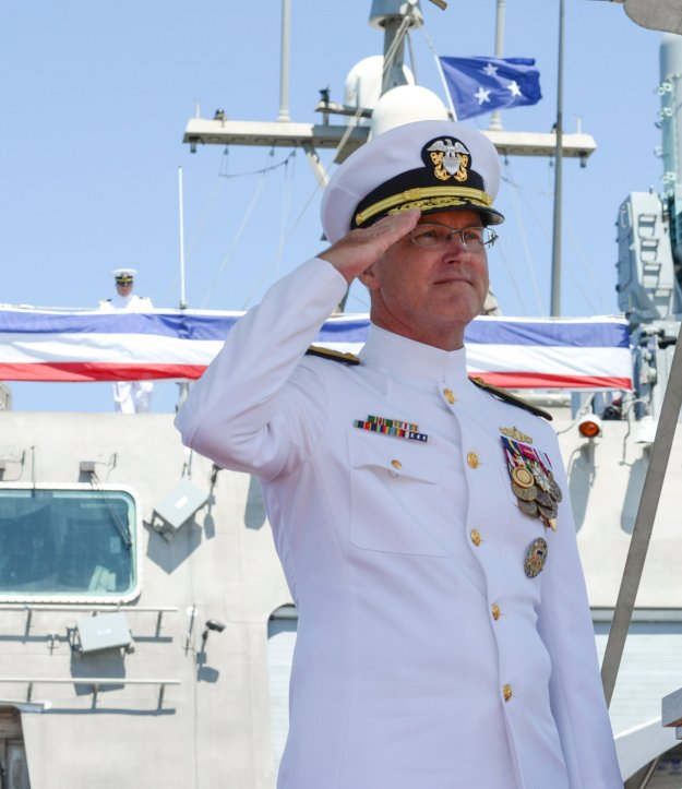 Vice Adm. Thomas Rowden, Commander of Naval Surface Forces. US Navy photo.