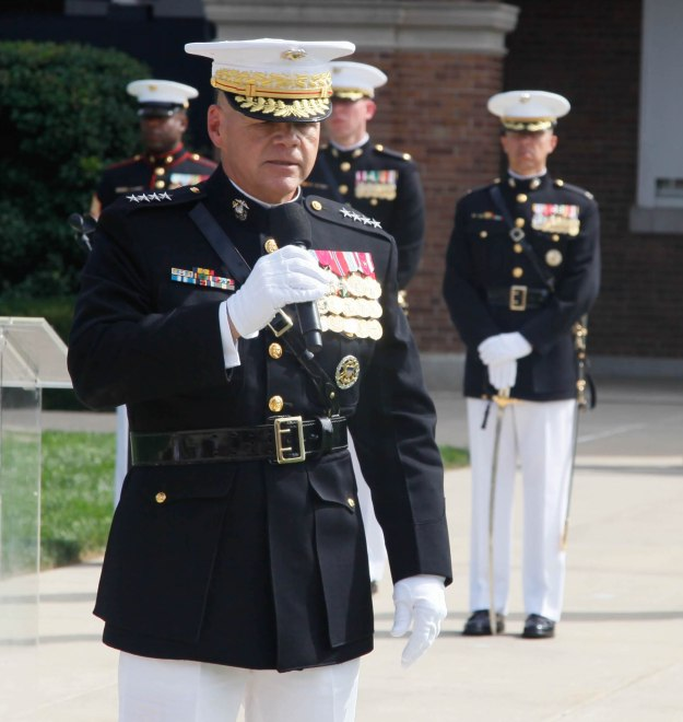 Document: Commandant Neller's First Official Message to Marine Corps