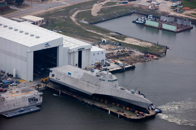 Austal USA Delivers Two Ships to Navy