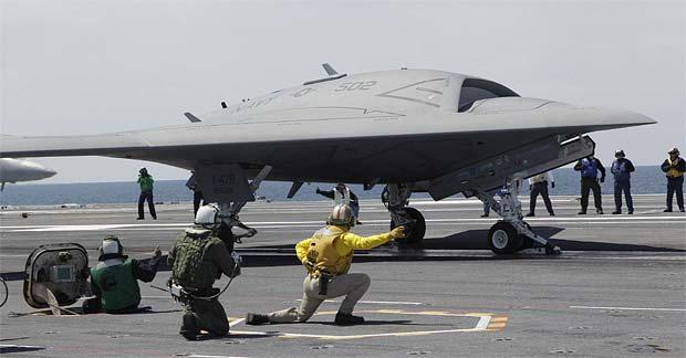 Northrop Grumman X-47B Unmanned Combat Air Vehicle (UCAV)