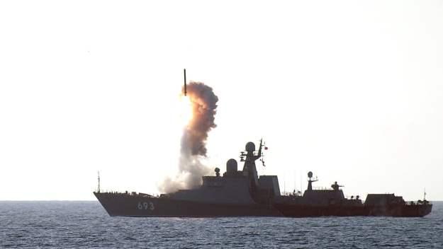 Kurdish Video Lends Credibility to Russian Navy Caspian Sea Strike Mission Claims