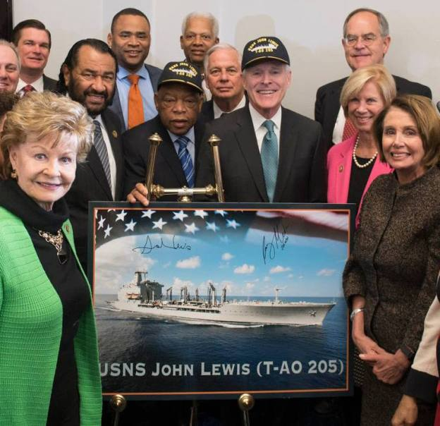 SECNAV Mabus Names First T-AO(X) Next Generation Oiler After Rep. John Lewis
