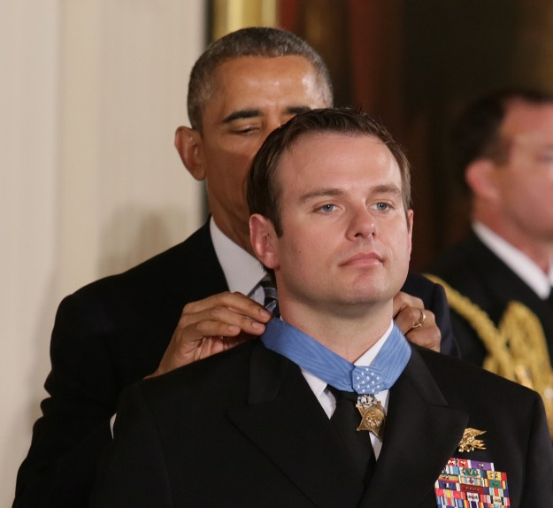 Video: Medal of Honor Ceremony for SEAL Edward Byers
