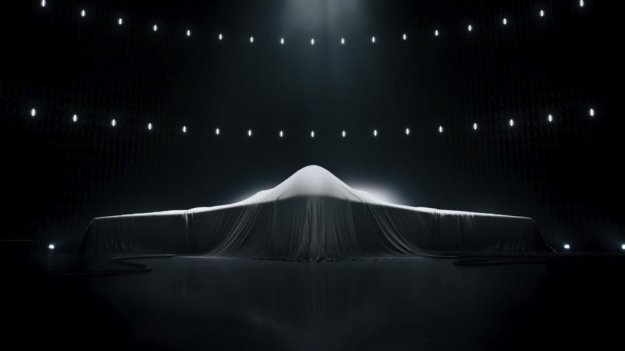 A screen capture from a Northrop Grumman advertisement. Northrop Grumman Image