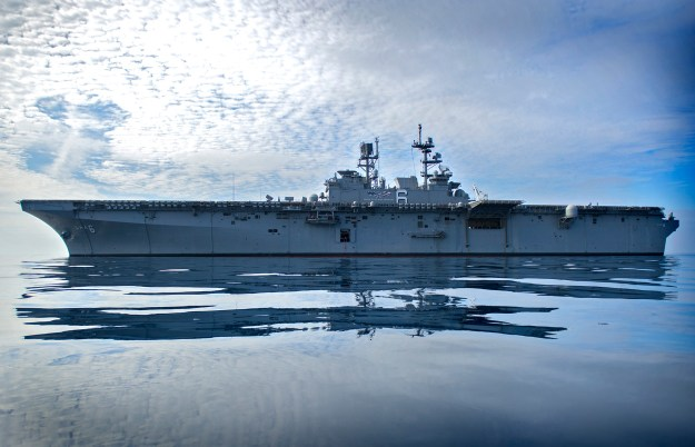 USS America Back to Sea After Completing 10-Months of Deck Strengthening for F-35s