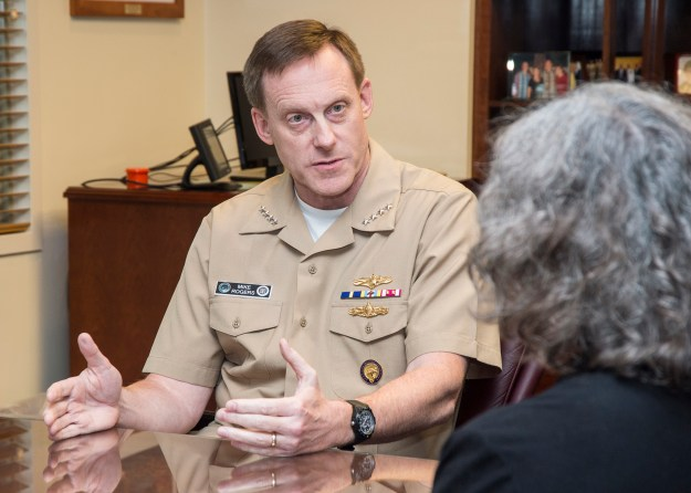 Adm. Mike Rogers, commander of U.S. Cyber Command and director of the National Security Agency in 2014. DoD Photo