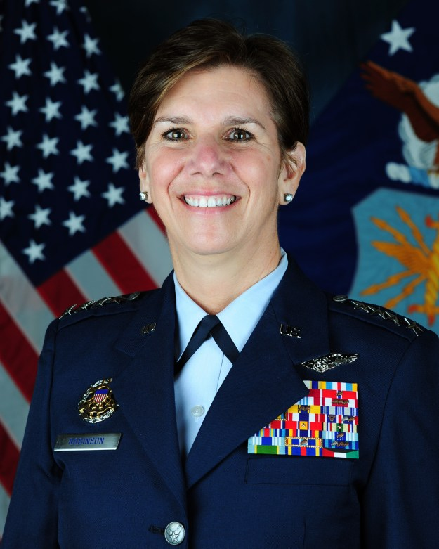 Gen. Lori Robinson. US Air Force Photo