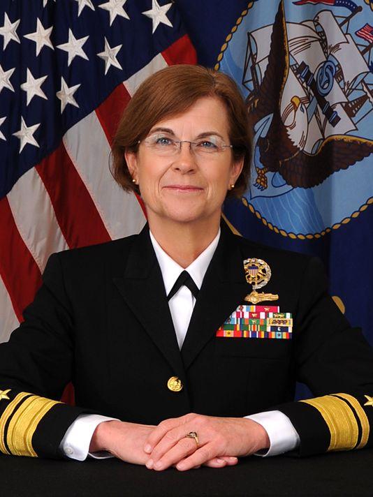 Rear Adm. Elizabeth Train. US Navy Photo